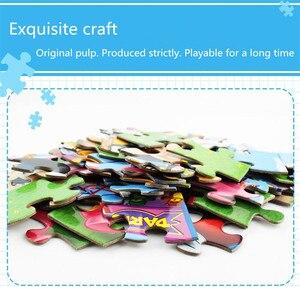 Image 5 - Disney autoryzowana oryginalna księżniczka/samochód mobilizacji 60 sztuk puzzle zabawki dla dzieci chłopiec dziewczyna zabawki prezent urodzinowy wysokiej jakości