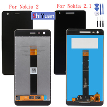 Original LCD Display Touch Screen for Nokia 2 2.1 N2 TA-1007 TA-1029 TA-1023 TA-1035 TA- 1011 Digitizer Assembly Replacement