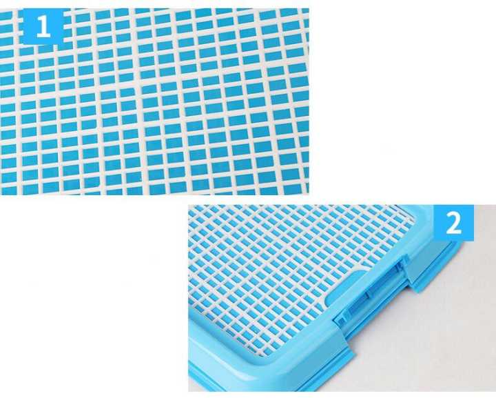 Reusable Puppy Training Pad with Grid Tray for Pets Potty Training Made with PP Resin Material 10