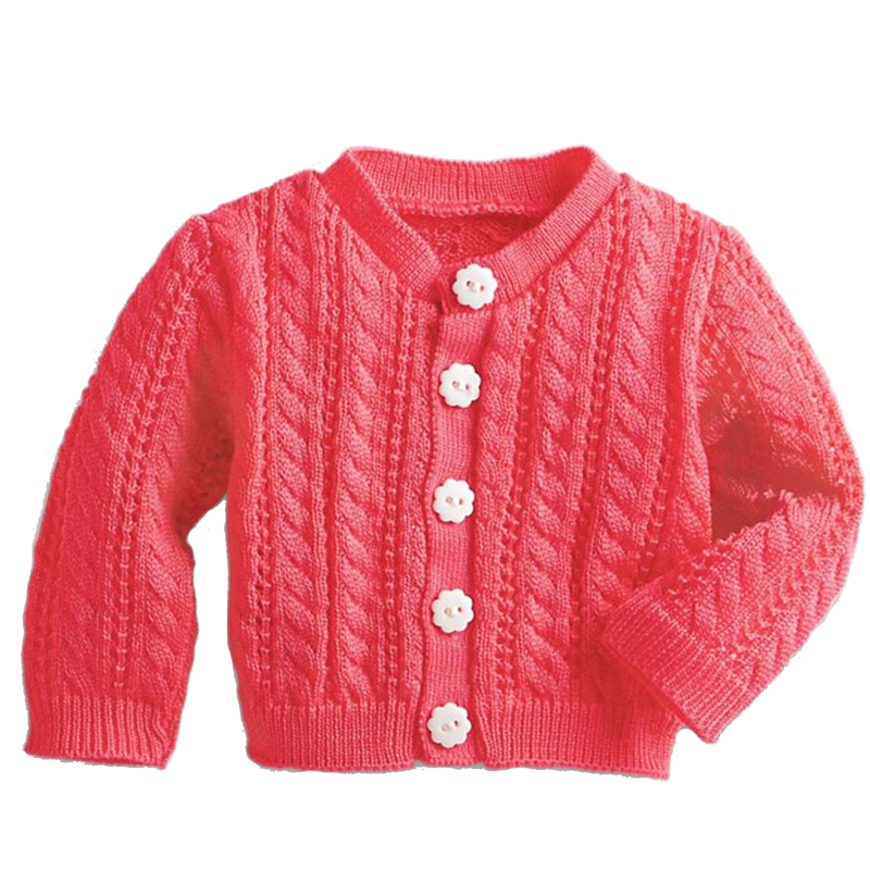 Clothes For 18inch United States Girl Doll 45cm Red Buttons Sweater Coat Accessories Fit 18inch Girl Dolls