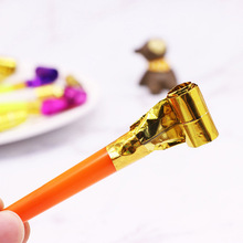 10 Pcs/Set Funny Blowouts Whistles Birthday Party Blow Outs Wedding Celebration Noice Maker Kid Toys YJS Dropship