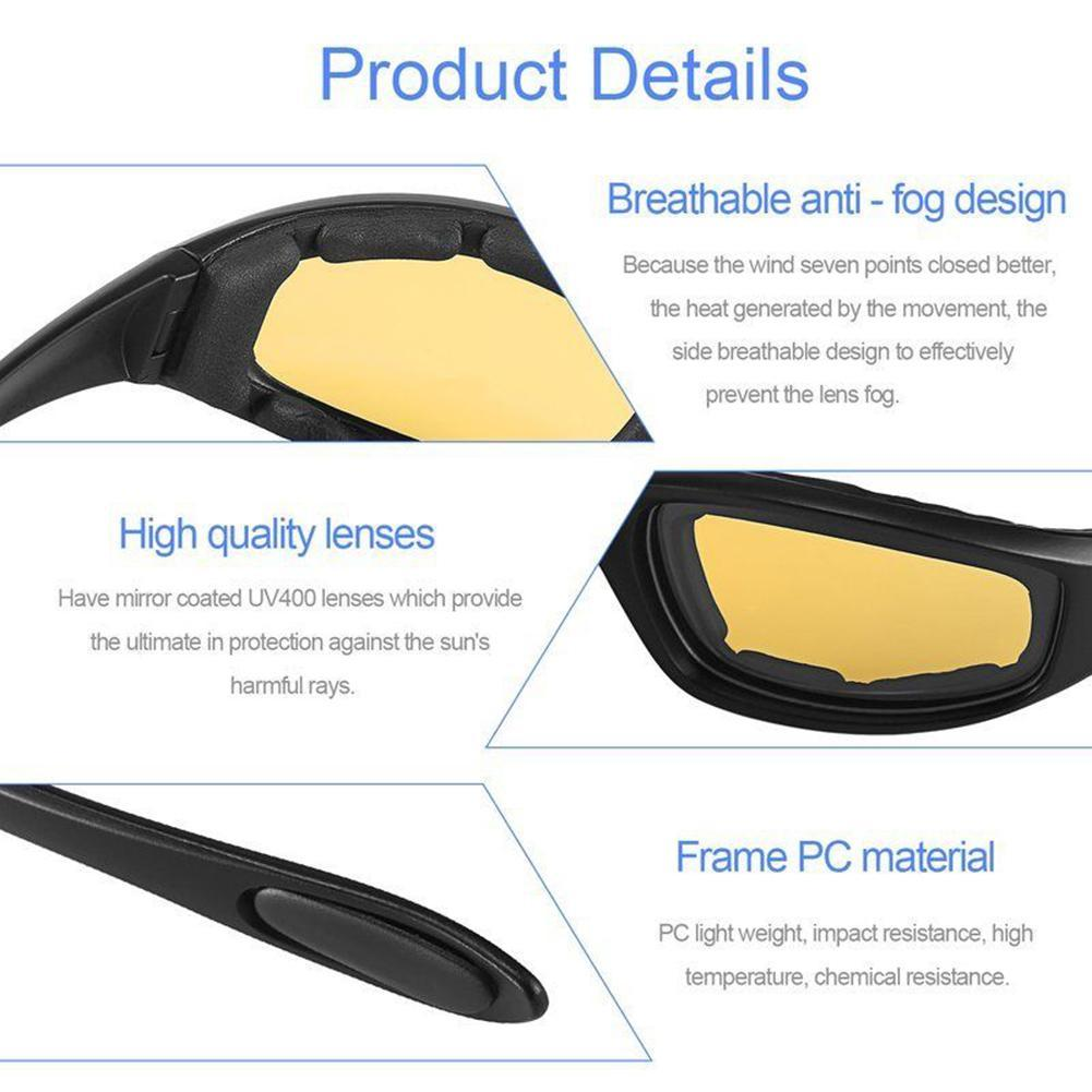 bbbbb58d33 Men Women Motorcycle Driving Glasses Sport Bike Bicycle Sun Glasses  Windproof Riding Motor Goggles Cycling Outdoor Universal-in Motorcycle  Glasses from ...