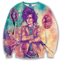 2018 New Arrival 3D Sweatshirts Hoodies Men Character Design Printed Polyester O Neck Casual Long Sleeve