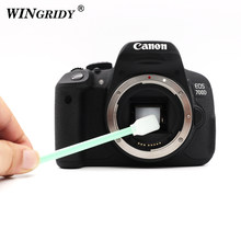 Originele Camera Lens Natte Sensor Cleaner Ccd Wattenstaafje Camera Lens Cleaning Stick Kit Voor Nikon Canon Sony Camera Pen coms(China)