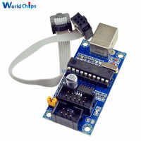 USBTiny USBtinyISP AVR ISP Programmer Bootloader For Arduino IDE Meag2560 UNO R3 With 10pin Programming Cable One