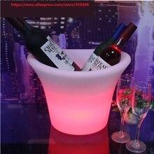 Аддитивная цветовая модель перезаряжаемого светодиода красный винный абажур из планок бар светодиодный Цветочная корзина световая мебель свет винный светодиодный Медвежонок светодиодный бочонок