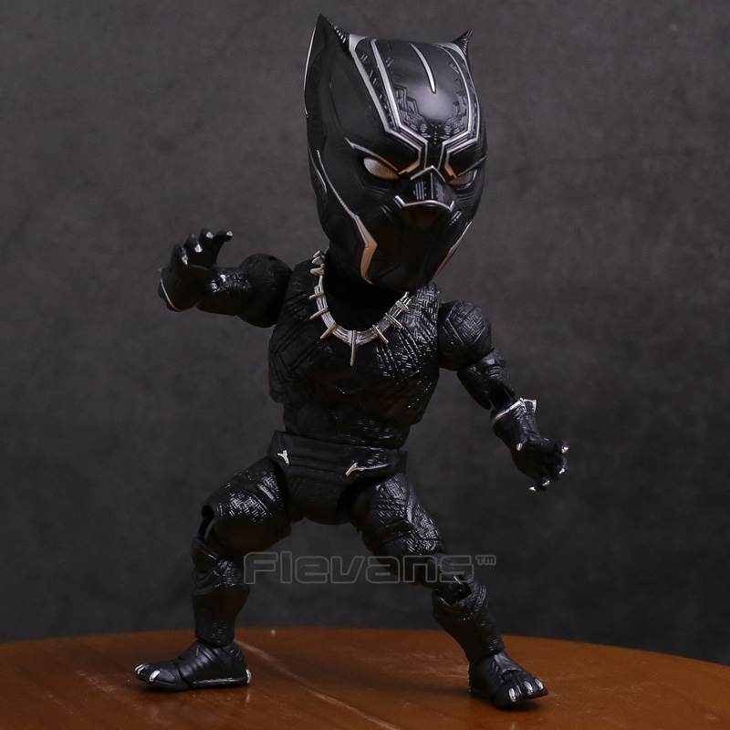 Egg Attack Action EAA-033 Black Panther PVC Action Figure Collectible Model Toy 18cm shfiguarts batman injustice ver pvc action figure collectible model toy 16cm kt1840