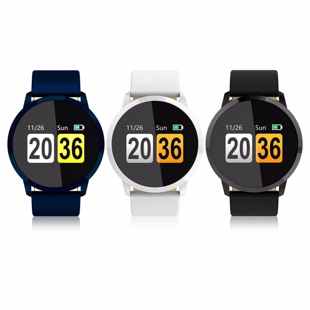 Q8 Smart Watch men Chip Blood Oxygen Sleep Heart Rate Monitor IP67 Waterproof Sport Fitness Wearable Smartwatch relogio reloj