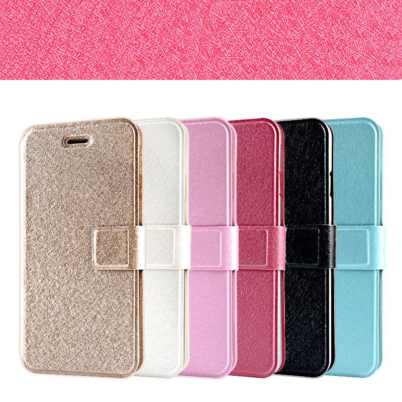 Ultra Thin Magnetic Leather Flip Case for Apple iPhone 6 6S With Stand / Wallet Card Slot Phone Cover Shell Camera Protection
