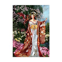 DIY 5D diamond painting classical beauty home decoration bedroom embroidery full round