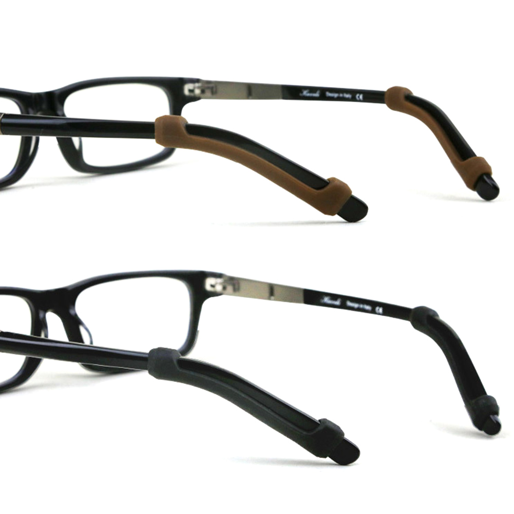 Apparel Accessories Silicone Glasses Sunglasses Slip Sets Glasses Non-slip Cover Glasses Leg Sets Anti Slip Silicone Ear Hook Kit Color Random Reasonable Price