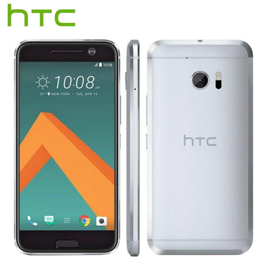 T-Mobile Version HTC 10 LTE 4g Mobile Téléphone 5.2 pouce 4 gb RAM 32 gb ROM Sanpdragon quad Core 12MP Caméra 1080 p Android téléphone Intelligent