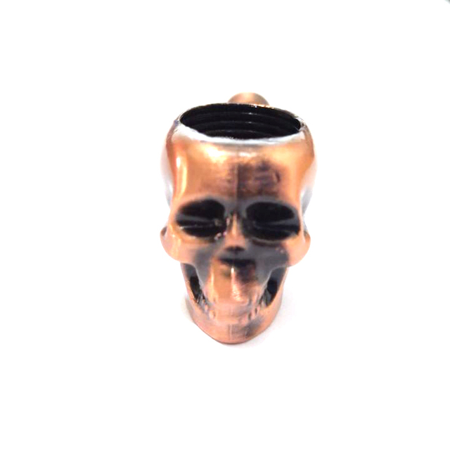 Metal Creativity Skull Classic Pipes Smoking Pipe Mouthpiece Filter Tobacco Pipe Cigar Narguile Grinder Smoke Cigarette Holder