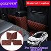 QCBXYYXH Car Styling 3 pz In Pelle Per Nissan Qashqai 2016 2018 Auto Sedile Posteriore Anti Calcio Pad Copertura decorazione interna Coperture|Proteggi-sedile per bambini|   -