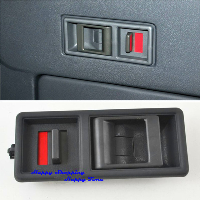 1x New Tail Door Inside Handle Rear Door Inner Buckle Fit For Mitsubishi  Pajero V31 V32