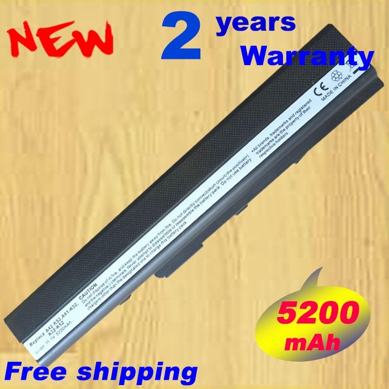 A32-K52 батареи для ноутбука ASUS A31-B53 A42-K52 A31-K52 A42 A42D A52JB A62 K42 K52J K52JB K52JC K52 K52D K52DR K52JC