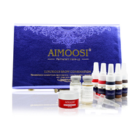 AIMOOSI Luxurious Combination Permanent Makeup Tattoo Pigment Eyebrow Lips Eyeliner Fixing Color Agent Secondary Soothing Repair