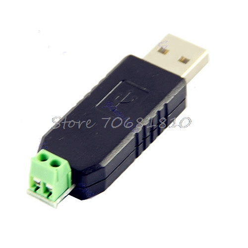 USB to RS485 485 Converter Adapter Support For Win7 XP Vista Linux OS WinCE5.0 -R179 Drop Shipping new et factory passwords generator support win xp 8 10 forcat