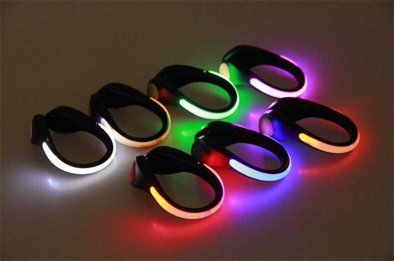 LED Light Luminous รองเท้าขี่จักรยานกลางแจ้งจักรยาน RGB ความแปลกใหม่ความปลอดภัยแสง Night เตือนโคมไฟเรืองแสง zapato ciclismo