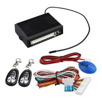AUTO Universal Central Lock Kit For Car Universal Closing Of Remote Control