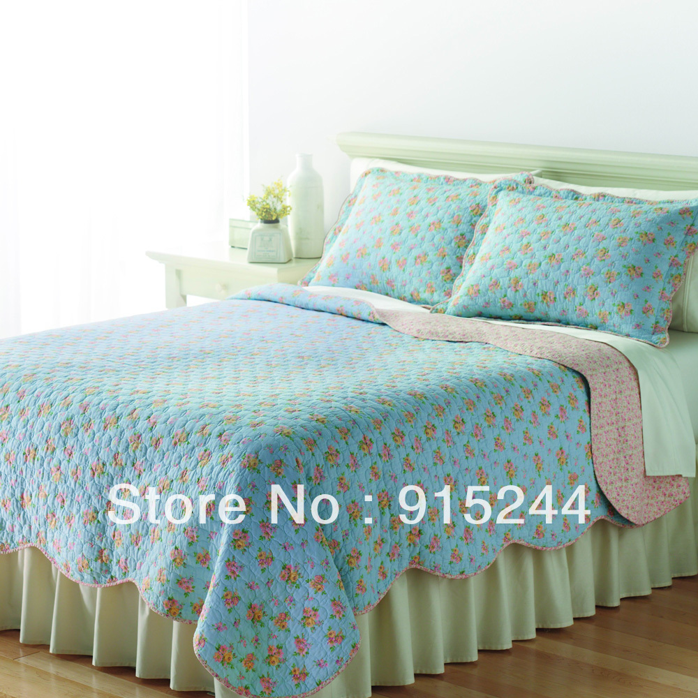 popular yellow floral bedspreadbuy cheap yellow floral bedspread  - quilts cotton quilting blue green yellow floral bedspread pink rose flowerwaterwash quilts air conditioning bedcover