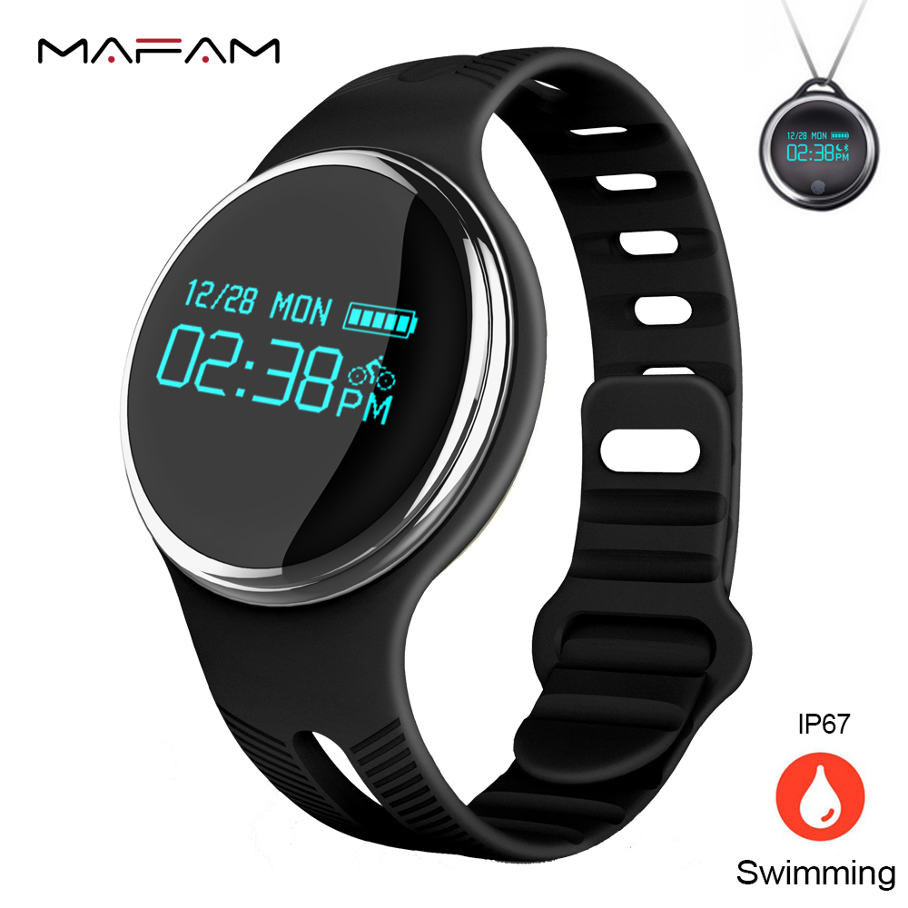 Smart Wristband Fitness Bracelet Sleep Monitor Multi-model for Sport IP67 Swim Diving Waterproof for Android IOS MAFAM E07