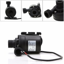 цена на 800L/H 5M Water Submersibles Pumps DC 12V/24V Solar Brushless Motor Water Circulation Pump
