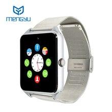 Smart watch gt08 plus uhr sync notifier unterstützung sim-karte bluetooth-konnektivität android telefon smartwatch legierung smartwatch