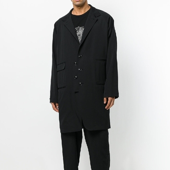 S-6XL!!! High quality menswear  2018 The new men's long, baggy jackets, double-pocket suits and tailored casual overcoats