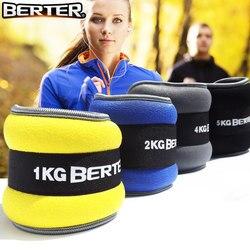 2 шт./1 пара 1 кг регулируемые ножные утяжелители для голеностопа ремни силовые тренировочные упражнения фитнес-оборудование для бега Баскет...