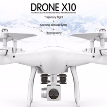 X10 2.4Ghz Quadcopter Camera WIFI FPV Headless Mode RC Drone Altitude Hold Remote Control Helicopter Toys One Key Return 4 Color