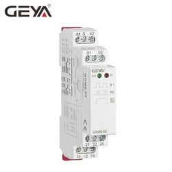 Гея GRM8 din-рейку электронные реле памяти реле импульс реле SPDT 16A шаг реле AC230V или AC/DC12-240V