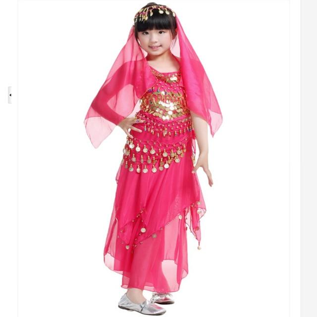 Nuevos niños de danza del vientre danza India trajes de baile ...
