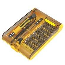 45 в 1 Professional Torx отвёртки Набор прецизионных часов компьютер починка смартфона демонтаж инструменты