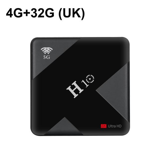 TV BOX soporte 4 K 6KHD Android 9,0 Smart Streamer TV Box 4 GB RAM Quad Core 32 ~ 64 GB Dual WiFi USB 3,0 reproductor de red