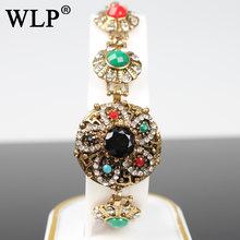 2018 wlp новые винтажные браслеты с цепочкой и звеньями металлические