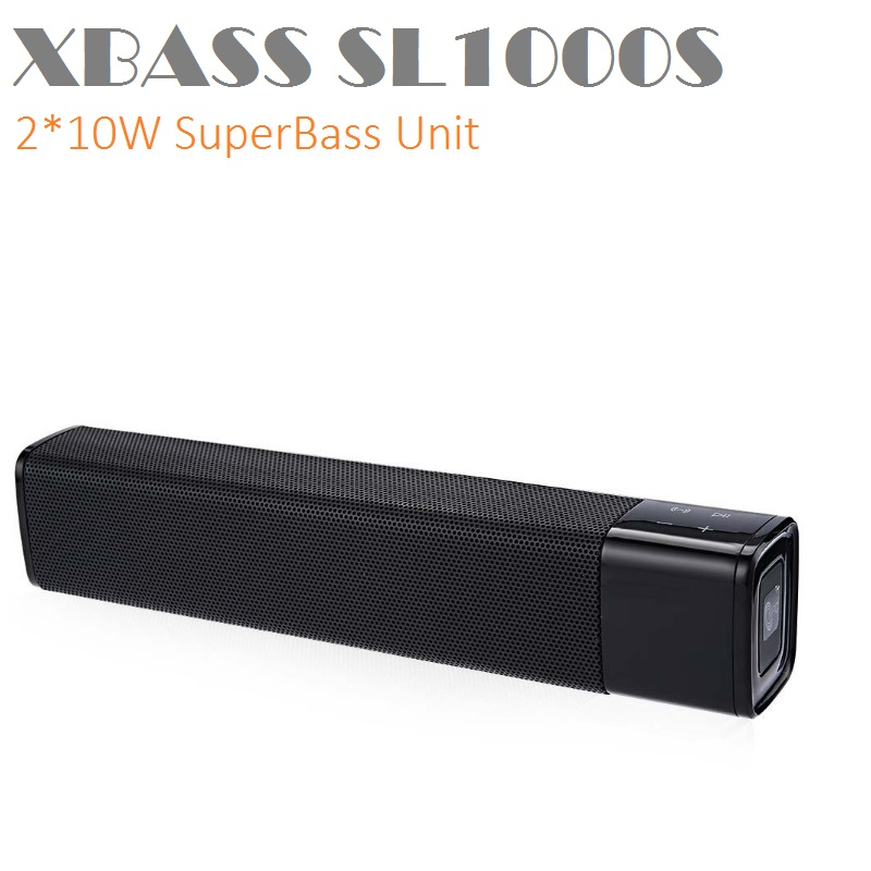 CrazyCube XBASS SL1000S NFC Wireless Bluetooth Portable Speaker 20W Super Bass Stereo pk charge pulse CHR2