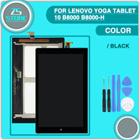 New B8000 LCD Touch Screen For Lenovo IdeaTab Yoga 10 B8000 B8000 H HD Display Touch