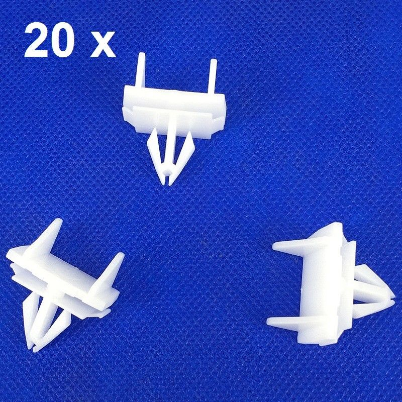 X20 Clips For Chrysler Jeep Liberty Bumper Molding Trim Clips 55157069ab Interior Accessories