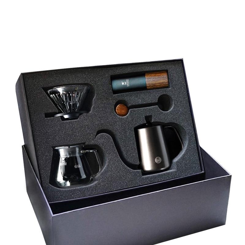 Timemore Manual drip coffee maker G1 Gift box set Outing portable brew coffee pot Mini coffee