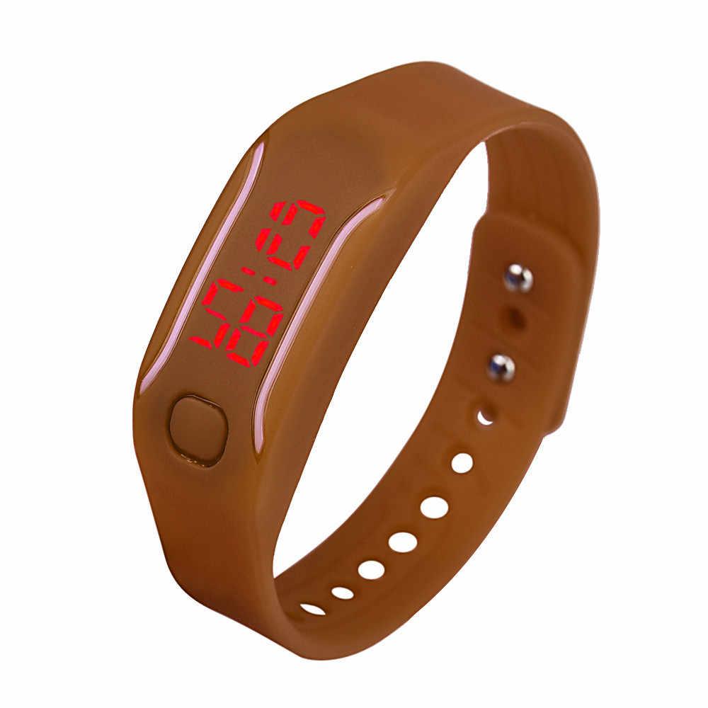 メンズ腕時計多色 LED ブレスレットデジタル腕時計 elojes パラ mujer リロイ mujer デジタル skmei リロイ hombre