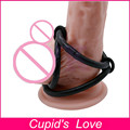 Cock Cage,Perfect Delay Ejaculation Cock Ring With 3 Rings,Casing Delay Lock Loops,Sex Toy For Man Penis Ring