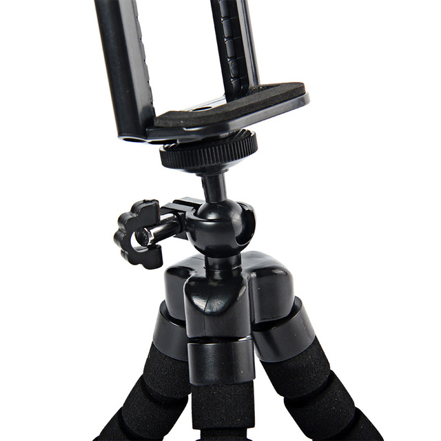 Super Cool Octopus Flexible Tripod for Digital Camera & Mobile Phone, Universal Stand Mount Portable Bicycle Holder Tripod Kit