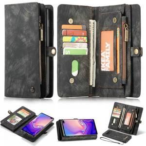 Image 2 - Purse Polsbandje Telefoon Case Voor Samsung Galaxy S20 Plus Ultra S10 5G Plus S10e Coque Luxe Lederen Fundas Cover accessoires Tas