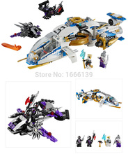 Ninjacopter Zane Pixal Jet Fighter Glider Warrior font b Drone b font Figs Minifigures Building Blocks