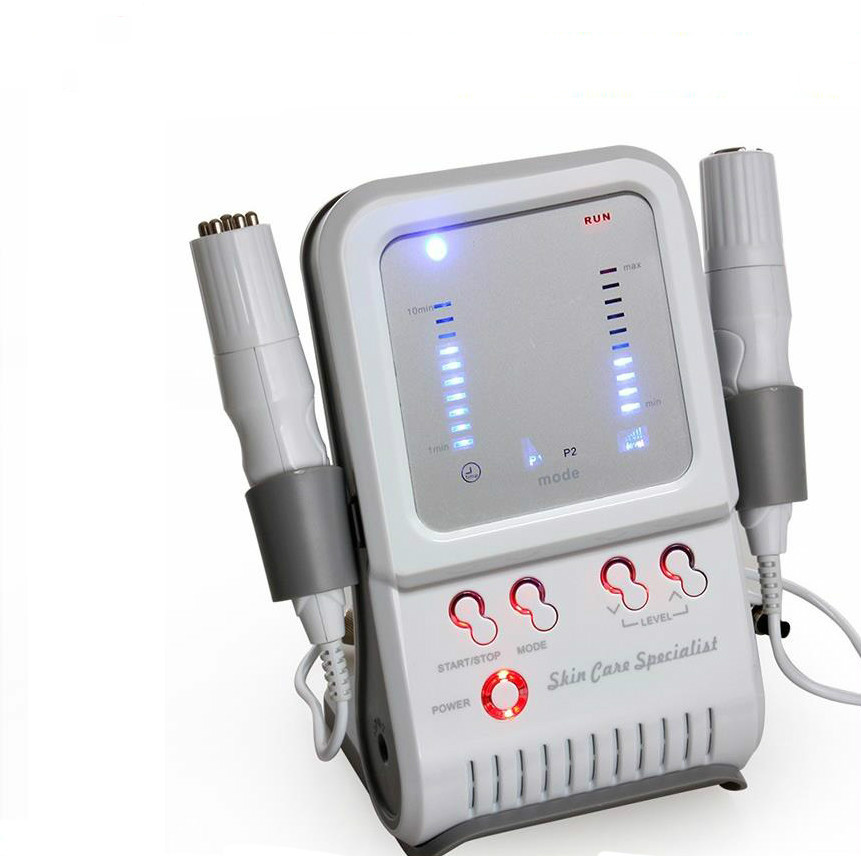 Bipolar RF & No-needle Mesotherapy Face Body Beauty Device Radio Frequency Electroportion Skin Rejuvenation Wrinkle Removal
