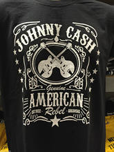 56f14395 JOHNNY CASH T SHIRT FRUIT OF THE LOOM GENUINE AMERICAN REBEL 100% Cotton  Short Sleeve O-Neck Tops Tee Mens T Shirts Fashion 2018