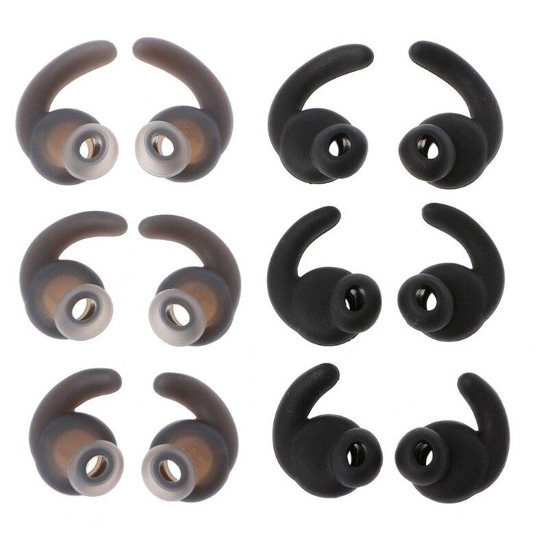 6 pçs silicone orelha ponta earbud para jbl synchros refletir bt mini bt fone de ouvido bluetooth