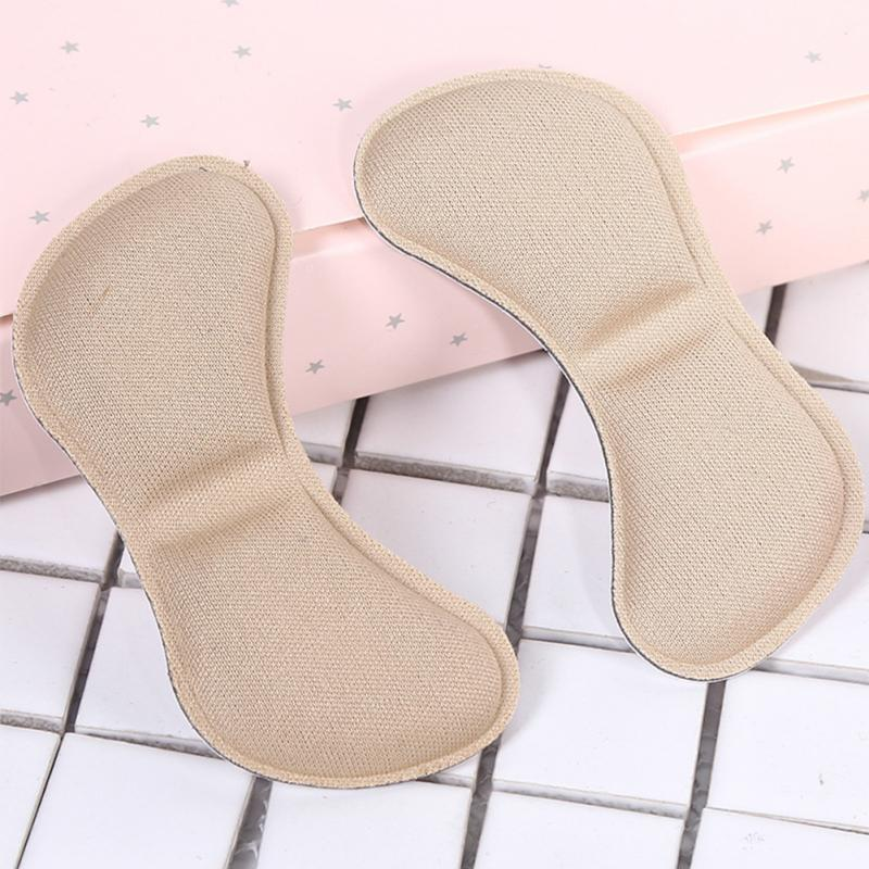 5 Pair Adhesive Patch Insole Cushion Pads Anti-wear Heel Liner Pain Relief Shoes