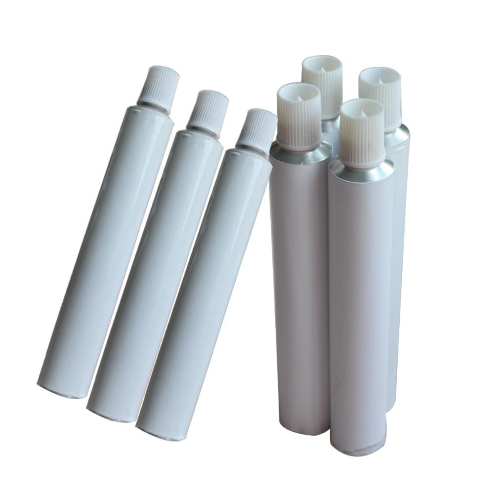 100pcs 30ml Aluminum Empty Toothpaste Tubes w/ Needle Cap unsealed100pcs 30ml Aluminum Empty Toothpaste Tubes w/ Needle Cap unsealed
